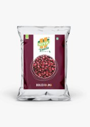 Hiya Foods Organic Boiled Rajma, High in Protein, Packaging Size: 1 Kg