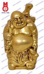 Happyman Standing W/ Bag Statue