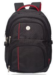 Black Wellington Large Casual Backpack Bag