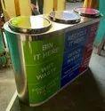 Ss recycling bin