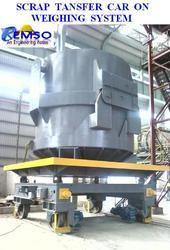 Scrap Bucket Transfer Car with Weighing System