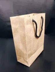 Brown Craft Paper Bag, For Shopping, Capacity: 500GM