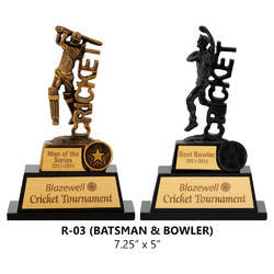 Bowler and Cricketer Trophy