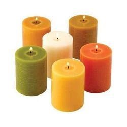 Perfumed Pillar Candle