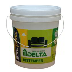 10 Kg Printed Paint Bucket