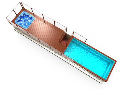 Tourist Shipping Swimming Pool, for Hotels/Resorts