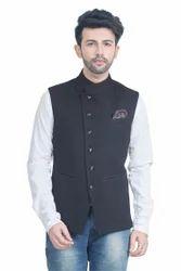 Jute Style Nehru Jacket Waistcoat