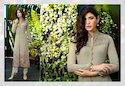 Ladies Georgette Full Sleeve A-Line Kurti