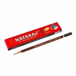 Black Red Nataraj Pencil, Packaging Size: Box