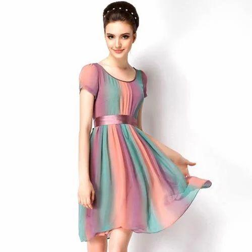 c29657df85efc Dresses Half Sleeves Girls Western Wear
