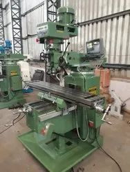 Square Head Turret Milling Machine