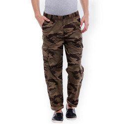 Army Print Cargo Jeans