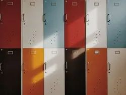 Powder Coated Mild Steel COLLEGE LOCKERS, Number Of Lockers: 15, Size/Dimension: 1850MMX915MMX350MM
