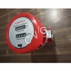 Red Fuel Flow Meter