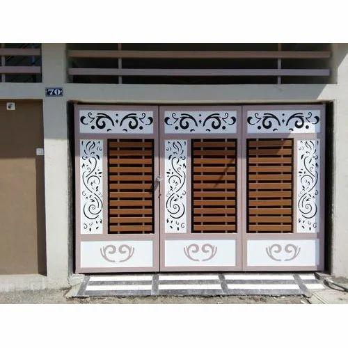 Designer Metal Compound Gates. Safety Doors Manufacturer from Surat