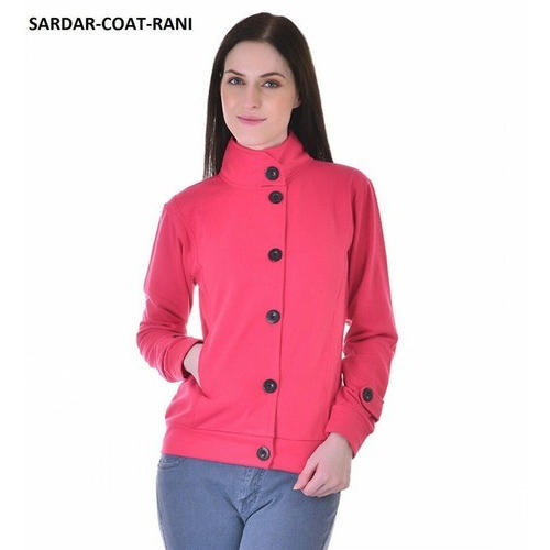 Full Sleeve And Pink And Ladies Jacket Rs 450 Piece Uno Sports