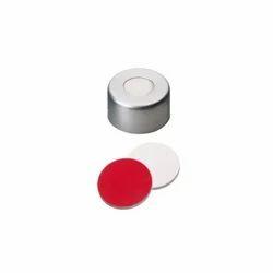11mm Silver Aluminum Crimp Cap
