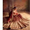 Adorable Red Bridal Lehanga
