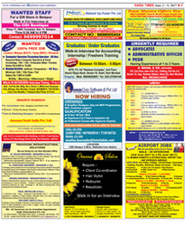 Colour Newspaper Advertising Service