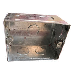 Iron Sheet Square Electrical Box, Application : Junction and Ceiling Fixtures