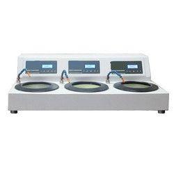 Triple Disc Variable Speed Metallurgical Polishing Machine