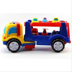 Multicolor Plastic Car Carrier Vehicle Toy Set, Packaging Type: Box