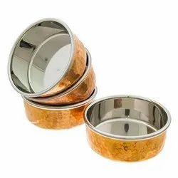 Copper Steel Bowl