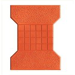 Concrete Outdoor I Shape Paver Block for Pavement, Size: .36 Sq.ft