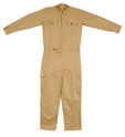 Industrial Worker Khaki Jumpsuit