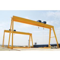 Yellow Gantry Crane, Capacity: >25 Ton