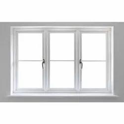 White Residential Used UPVC Windows