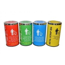 Colour Coded SS Dustbins