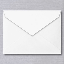 White Paper Envelope