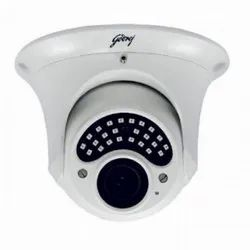 Plastic Analog/Wired Godrej 1.3 Mp Cctv Dome Camera, 1920x1080 P, Camera Range: 10 To 20m