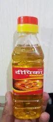Round White Deepika Sesame(Till)Oil-200ML, Packaging Type Available: Plastic Bottle
