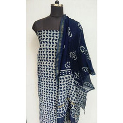 Indico Chanderi Silk Suits