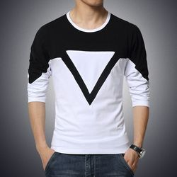 Men's Cotton Casual T-Shirt, Size: S to XL