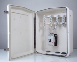 6 Way EPP SMC Distribution Box Three Phase