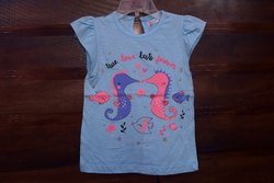Girls Print Designer Top