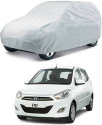 Silver Uncle Paddy Car Body Cover Silver for Hyundai i10 Without Mirror Pockets
