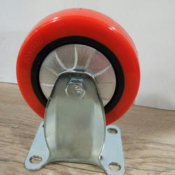 Shopping Trolley PU Caster Wheel