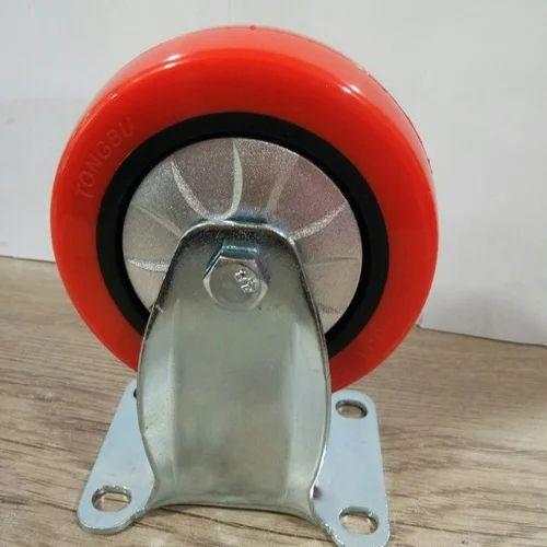Shopping Trolley PU Caster Wheel