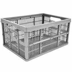 48 Litre Gray Mesh Crate