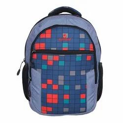 Nylon School Backpack