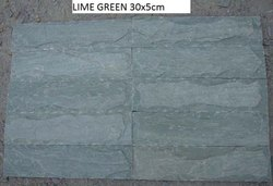 Lime Green Butching Stone Slate