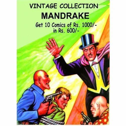 Mandrake Vintage Collecton Comic Book