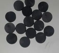 Round Horn Button Blank, For Garments, Size/Dimension: 16 Mm