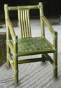 Green 565mm L X 730mm D X 885mm H Cocos Chair