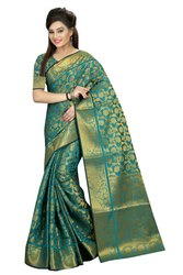Designer New Heavy Banarasi Cotton Saree