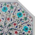 Pietre Dure Marble Table Top, Marble Inlay Table top
